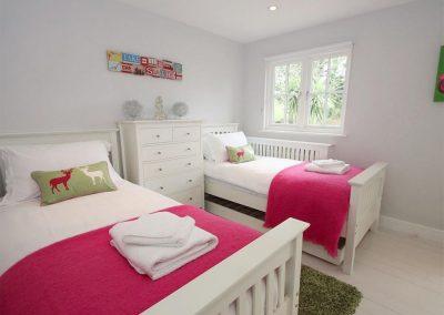 Bedroom #3 at Kismet, Little Petherick
