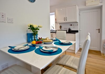 The dining area @ Lapwing 2, The Cove, Brixham