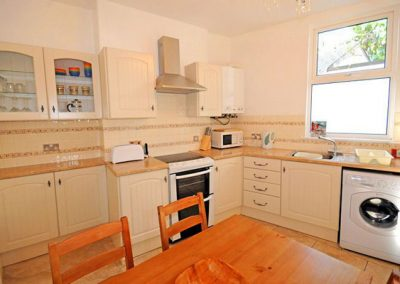 The kitchen & dining area @ Lifebuoy Cottage