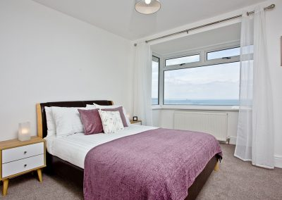 Bedroom #1 at Lighthouse View, Brixham