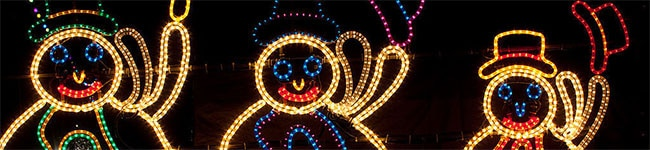Most towns and cities across Britain have seasonal Christmas lights, nativity scenes and Christmas trees. Small villages in Cornwall do an amazing job, and the official lighting ceremony is always a fun family night out.