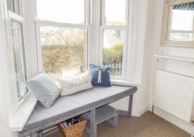 Bedroom #1 at Limpet Cottage, Brixham