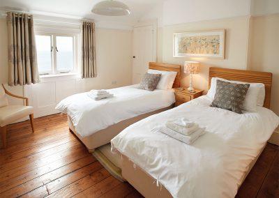 Bedroom #2 at Longships, Lizard Lighthouse, Lizard