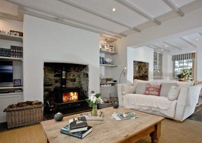 The living area at Lower Margate, Fletchersbridge