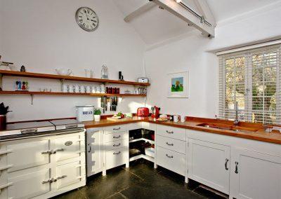 The kitchen at Lower Margate, Fletchersbridge