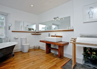 The bathroom at Lower Margate, Fletchersbridge