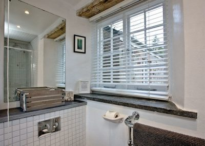 The shower room at Lower Margate, Fletchersbridge