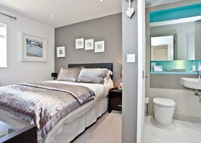 Bedroom #1 at Luna Blue, Tre Lowen, Newquay