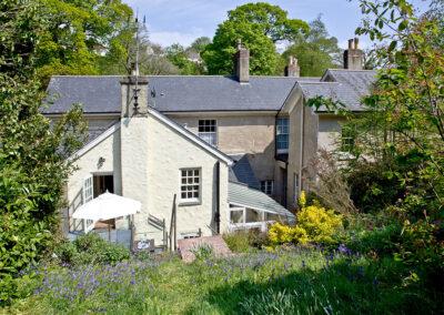 The garden at Mallock, Cockington Cottages, Cockington