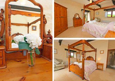 Bedroom #1 at Marhayes, Camelford