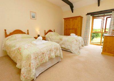 Bedroom #2 at Marhayes, Camelford