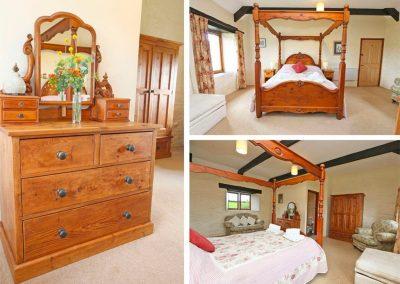 Bedroom #3 at Marhayes, Camelford