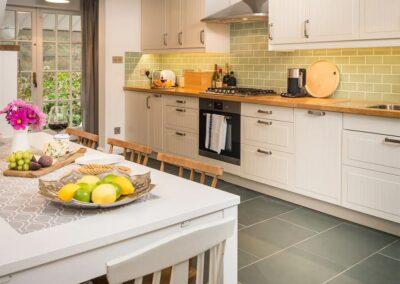 The kitchen at Maryville , Treen