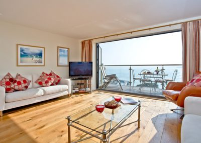The living area @ Masts B7, Torquay