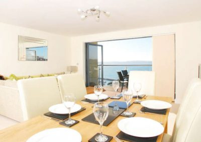 The dining area @ Masts B9 - Harbreck Heights, Torquay