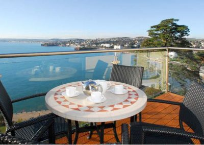 The spacious balcony @ Masts B9 - Harbreck Heights, Torquay