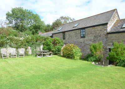 The garden at Meadow Cottage, Torfrey