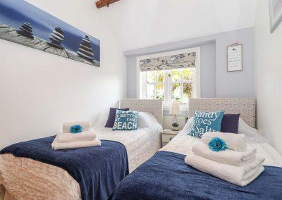 Bedroom #3 at Meadowview Cottage, Trelash