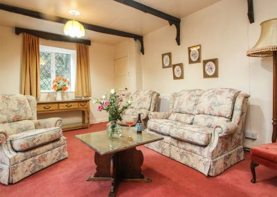 The living area at Miller's House, Trethevy