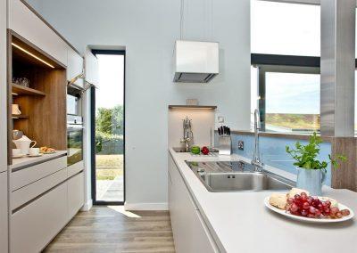 The kitchen at Millook, Wooda Farm, Bush