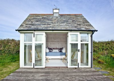 The summer house at Mowhay Barn, St Ervan