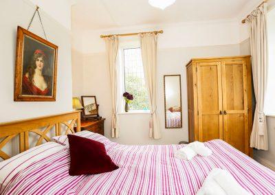 Bedroom #1 at Muddykins Cottage, Muddiford