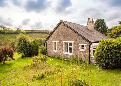 The garden at Muddykins Cottage, Muddiford