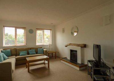 The living area at Nans-Tek, Crackington Haven