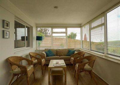 The conservatory at Nans-Tek, Crackington Haven