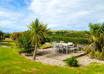 The garden at Nans-Tek, Crackington Haven