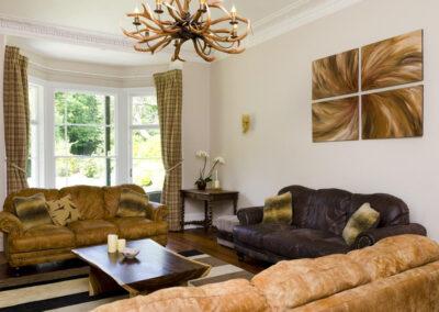 The lounge at Newport Manor, Newport