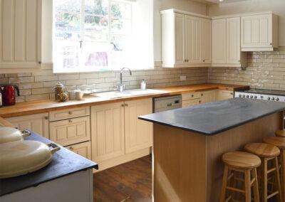 The kitchen at Newport Manor, Newport