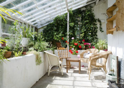 The conservatory at Newport Manor, Newport
