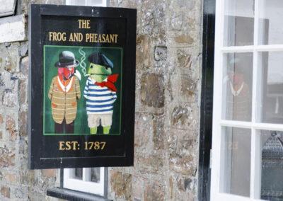 The onsite private pub at Newport Manor, Newport