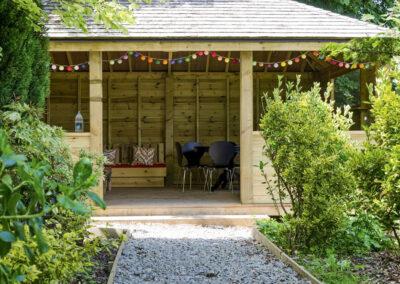 The summerhouse at Newport Manor, Newport