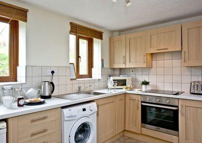The kitchen at Nobbys Cottage, East Thorne, Kilkhampton