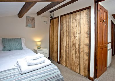 Bedroom #2 at Nook Cottage, East Thorne, Kilkhampton