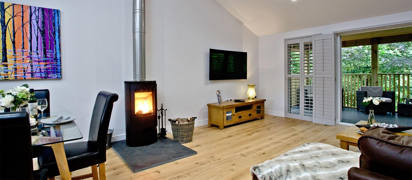 Oak Lodge, South View Lodges, Shillingford St George