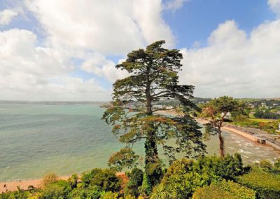 The view from Bedroom #2 @ Ocean Shangri-La, Bay Fort Mansions, Torquay