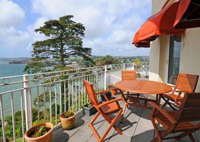 The balcony @ Ocean Shangri-La, Bay Fort Mansions, Torquay