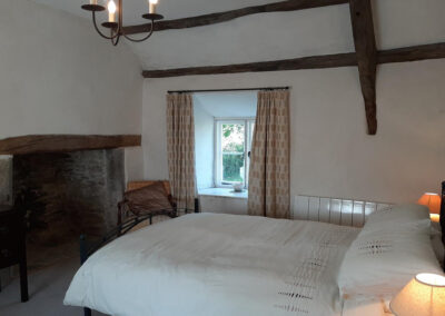 Bedroom #1 at Old Church House, Brayford