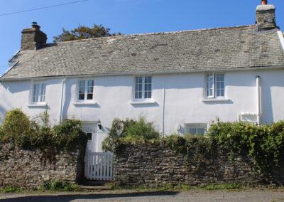 Outside Old Church House, Brayford