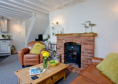 The living area at One Greenway, Kingsand