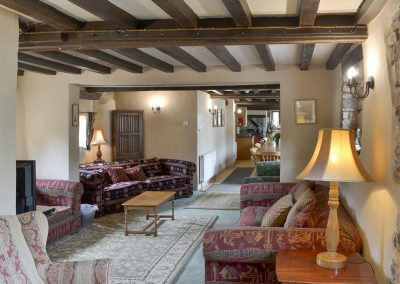 The third living area at Orchard Barn, Duvale Cottages, Bampton