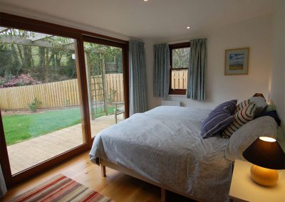 Bedroom #1 at Orchard Retreat, Tipton St John
