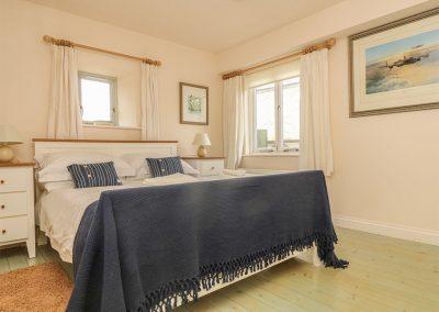 Bedroom #1 at Oreo's Cottage, Goonvrea