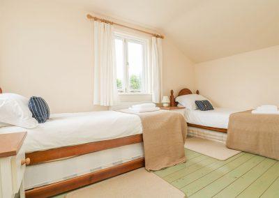 Bedroom #2 at Oreo's Cottage, Goonvrea