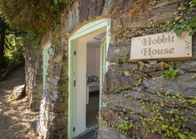 The Hobbit House beach house at Oversteps House, Salcombe