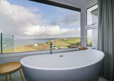 Bedroom #1 en-suite at Oyster Bay, Port Isaac