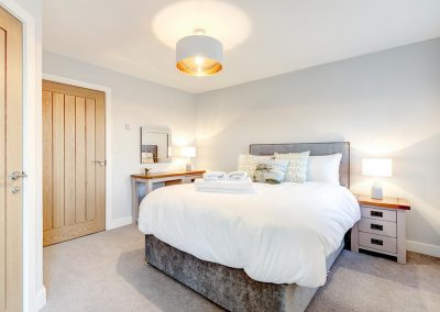 Bedroom #2 at Padstow Country Barn, Trenance